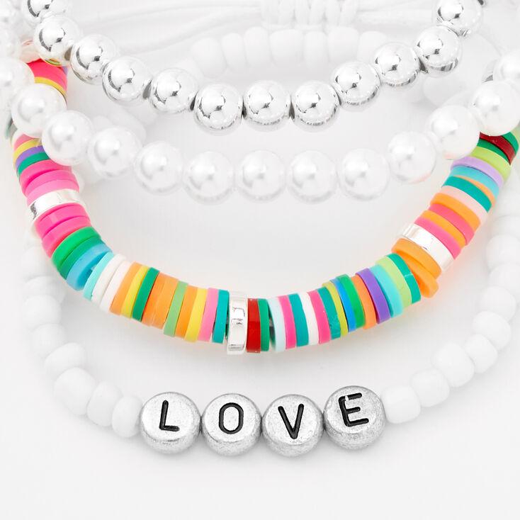 Love Mixed Bracelet Set - 4 Pack,