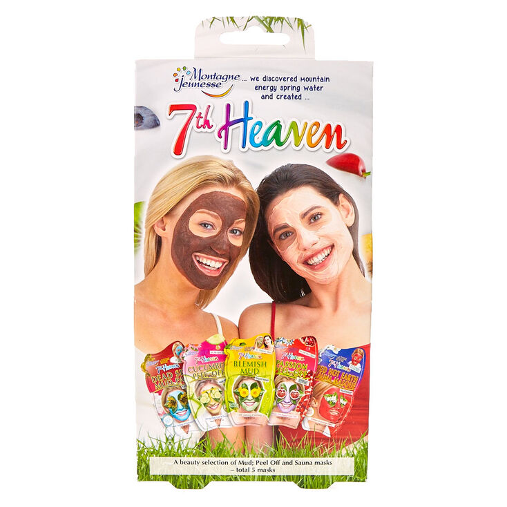 7th Heaven Peel Off & Sauna Masks - 5 Pack,