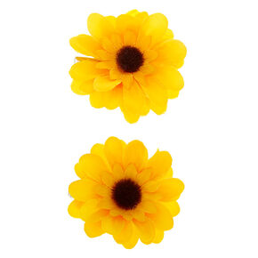 Sunflower Hair Clips - 2 Pack,