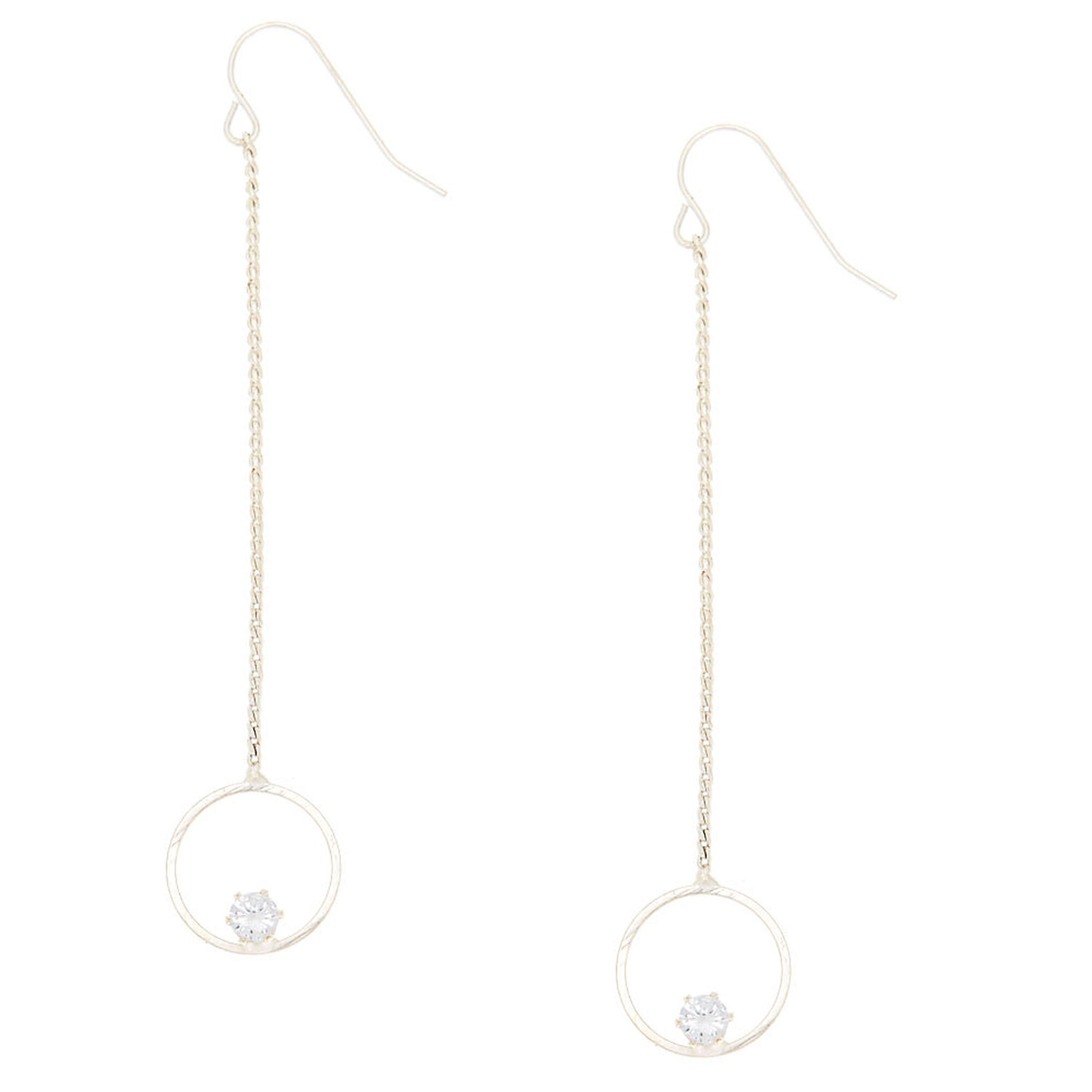 dangles us circular gold drop tone claire circle s earrings with large