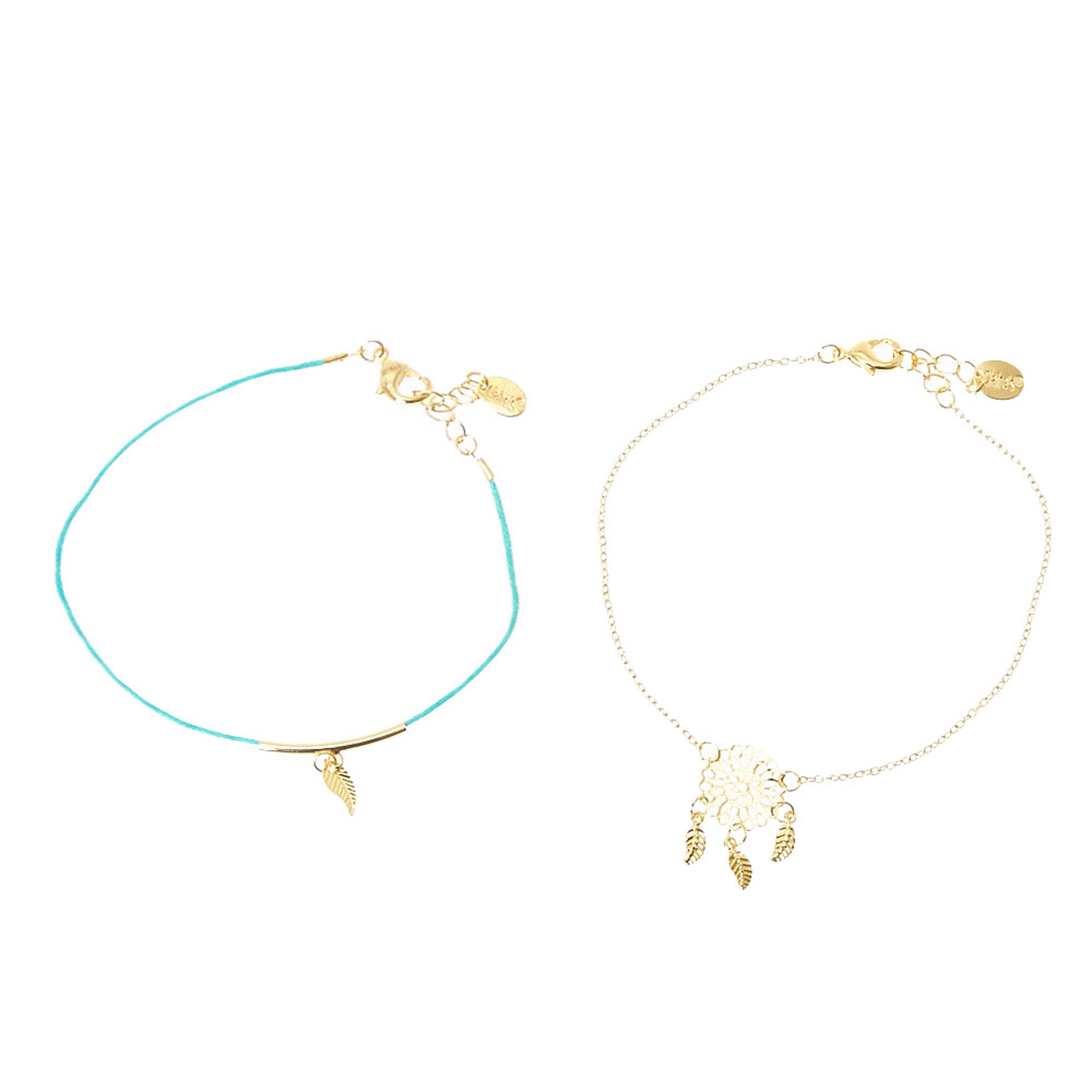 products metal anklet grande dream catcher gold style mixed tibetan plated jewelry il summer silver