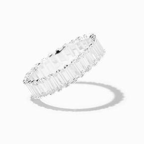 Silver 60MM Spotted Hoop Earrings - Black,