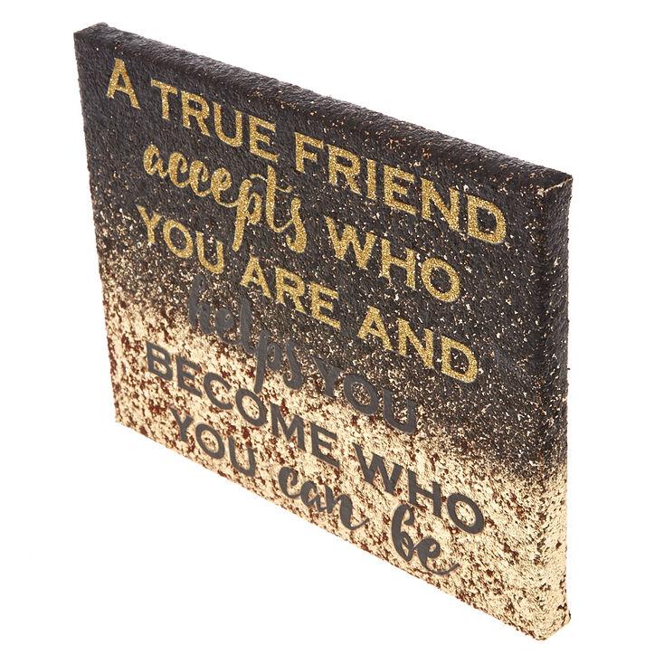 True Friend Wall Art,