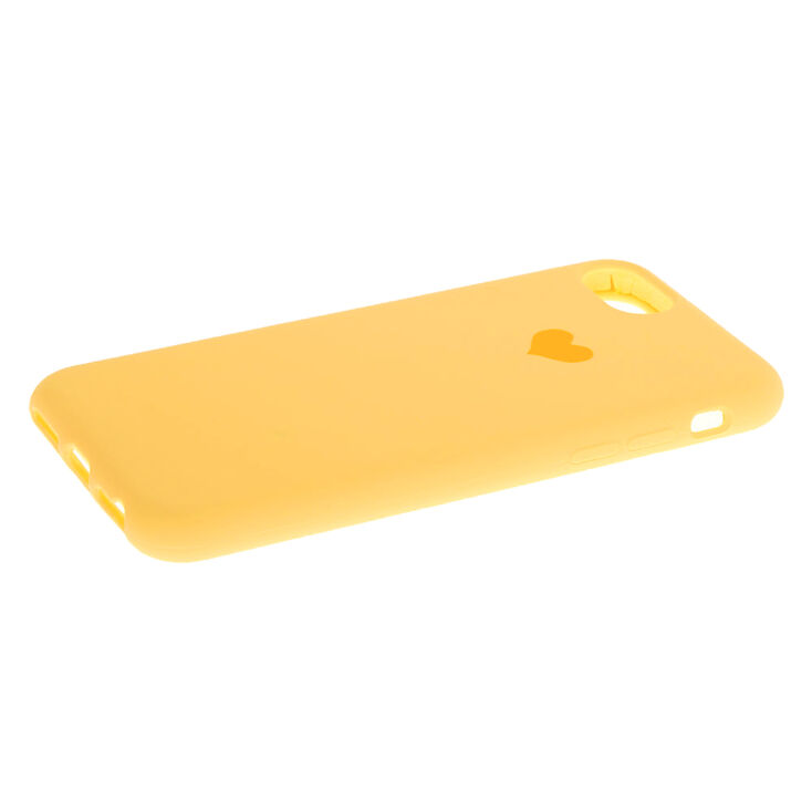 Mustard Heart Phone Case - Fits iPhone 6/7/8/SE,