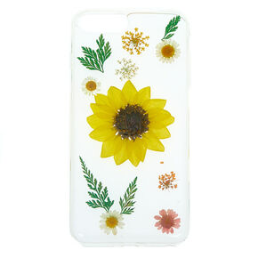 Sunflower Pressed Flower Phone Case - Fits iPhone 6/7/8 Plus,