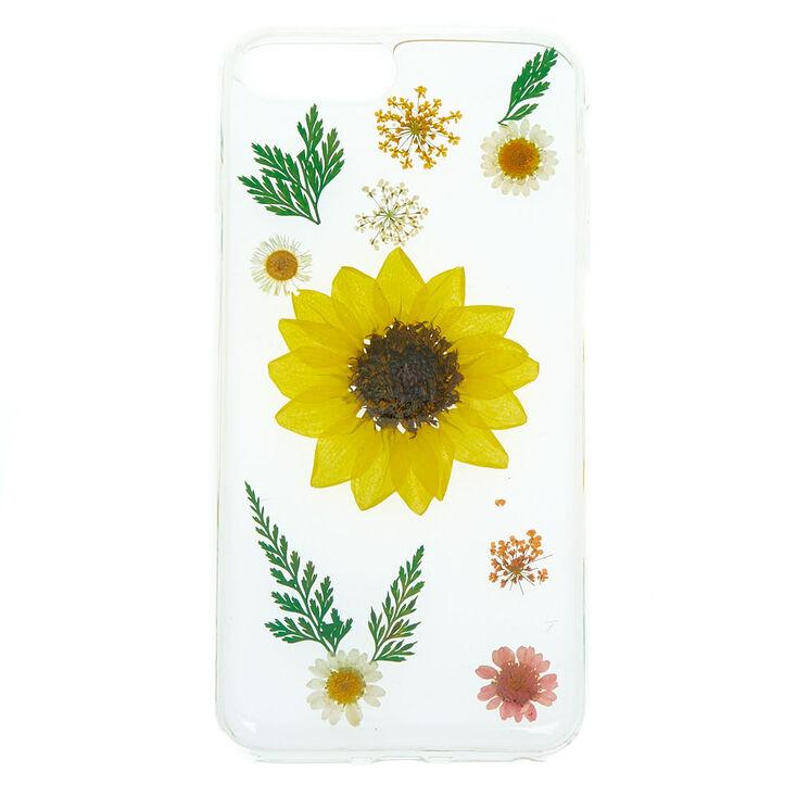 Sunflower Pressed Flower Phone Case - Fits iPhone 6/7/8 Plus,