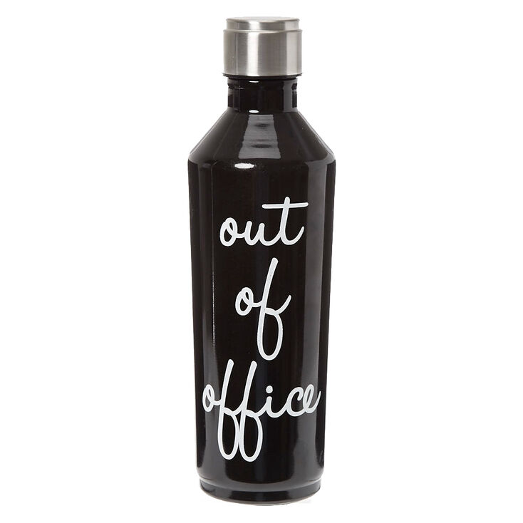 Water Bottle For Office: Out Of Office Water Bottle