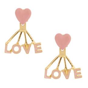 Love Earring Jackets,