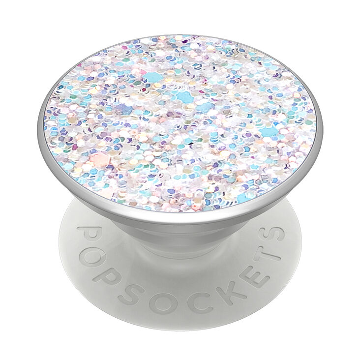 PopSockets Swappable PopGrip - Sparkle Snow White,