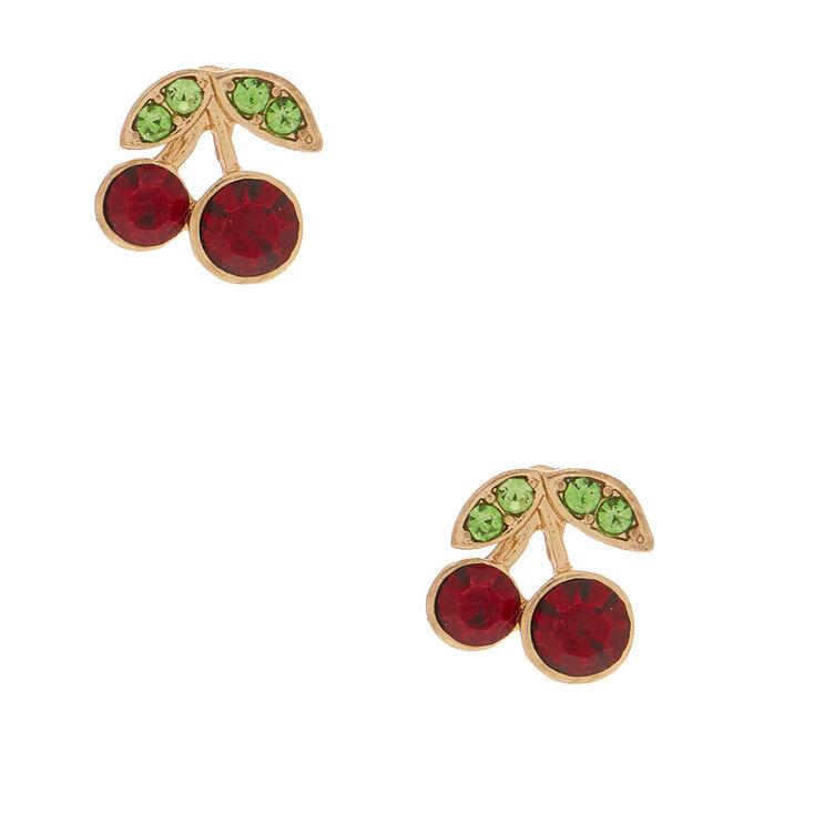Cherry Stud Earrings,