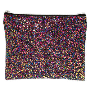 Glitter Makeup Pouch - Purple,