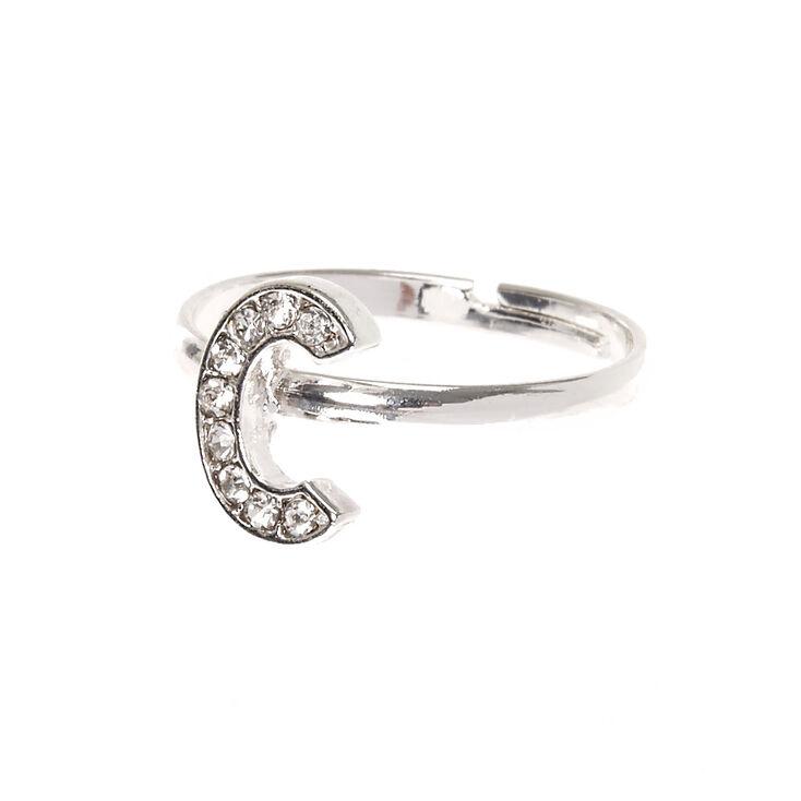 C Initial Adjustable Ring,