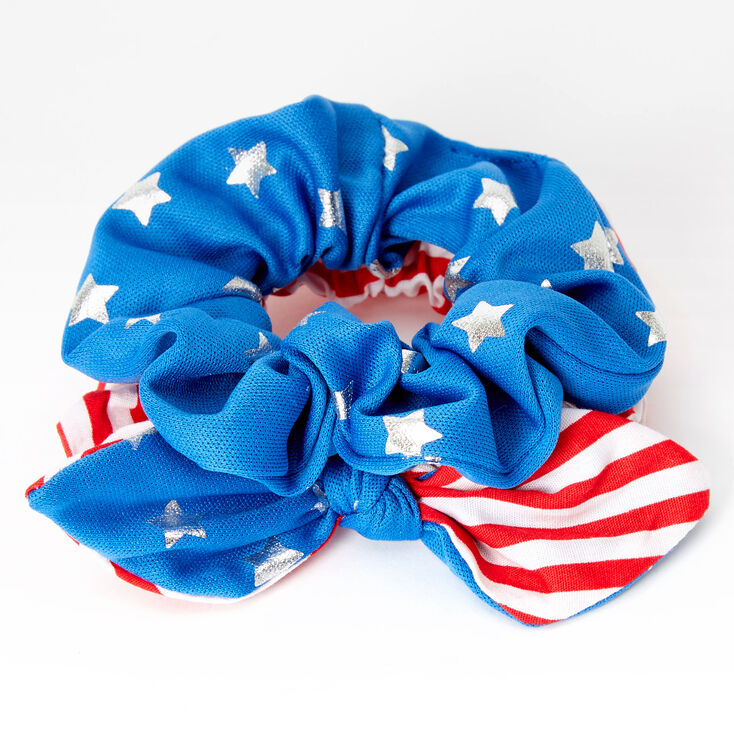 Small USA Hair Scrunchies - 2 Pack,