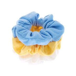 Small Pastel Summer Hair Scrunchies - 3 Pack,