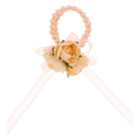Classic Pearl Corsage - Pink,