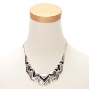 Silver Southwest Statement Necklace,