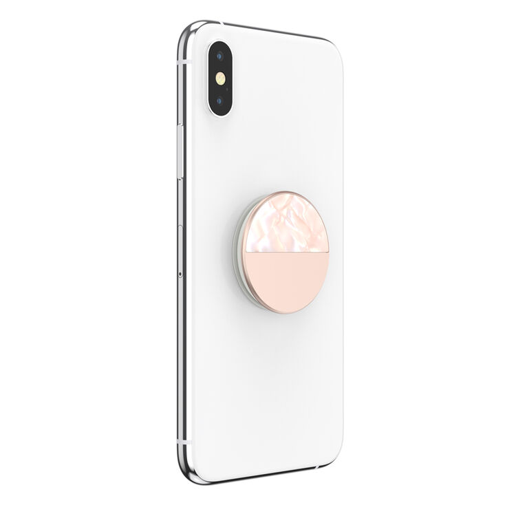 Glam Inlay Acetate PopSockets Swappable PopGrip - Rose Gold,