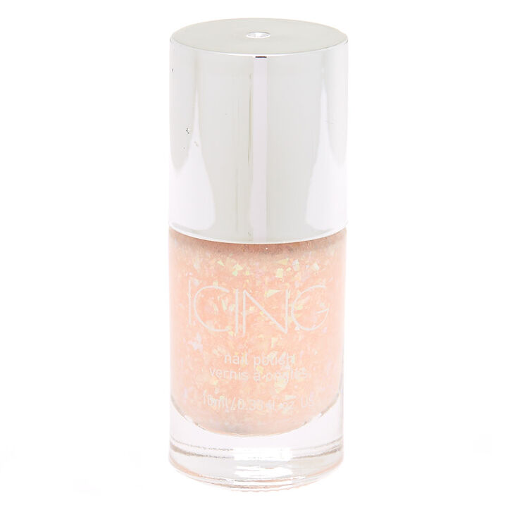 Glitter Nail Polish - Peach Holo Glitz,