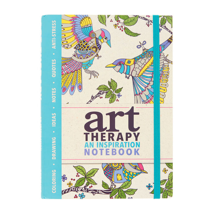 Art Therapy An Inspirational Notebook,
