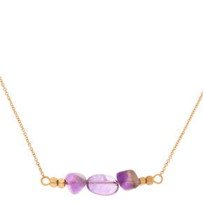 Amethyst Peace Pendant Necklace,
