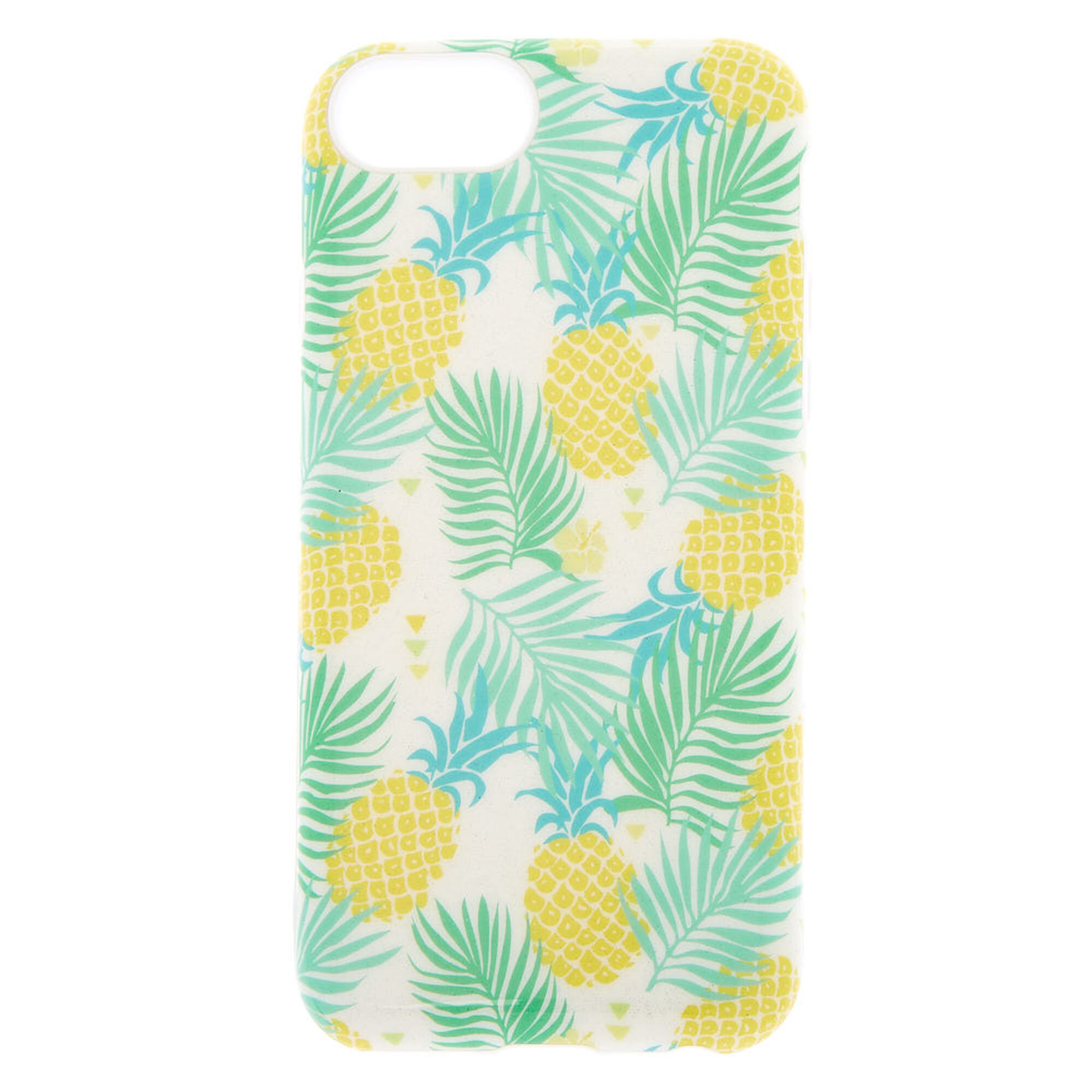 free shipping f0552 5540d Glitter Pineapple Protective Phone Case - Fits iPhone 6/7/8