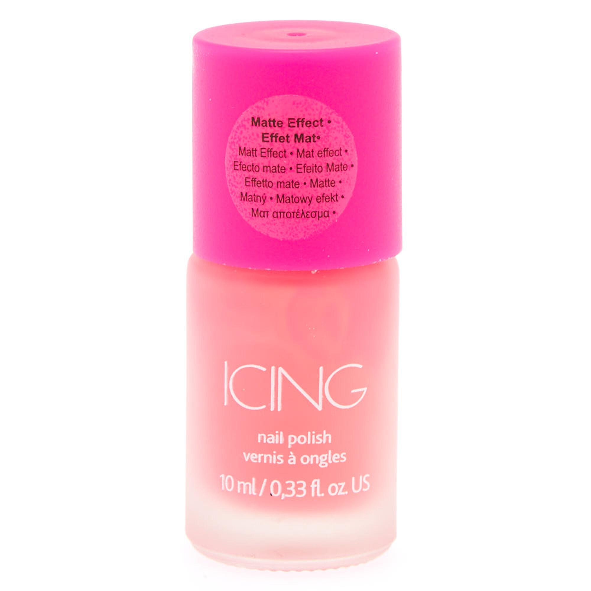 Pink Matte Nail Polish | Icing US