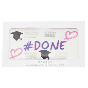 Graduation Face Stickers,