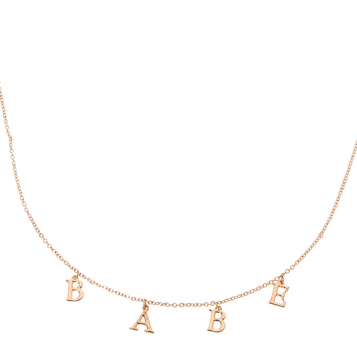 BABE Necklace,