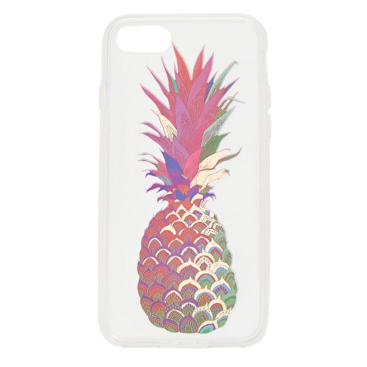 Water Color Pineapple Phone Case - Fits iPhone 6/7/8 Plus,
