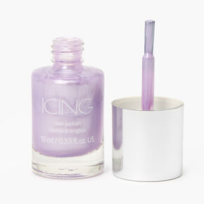 Shimmer Nail Polish - Lilac,