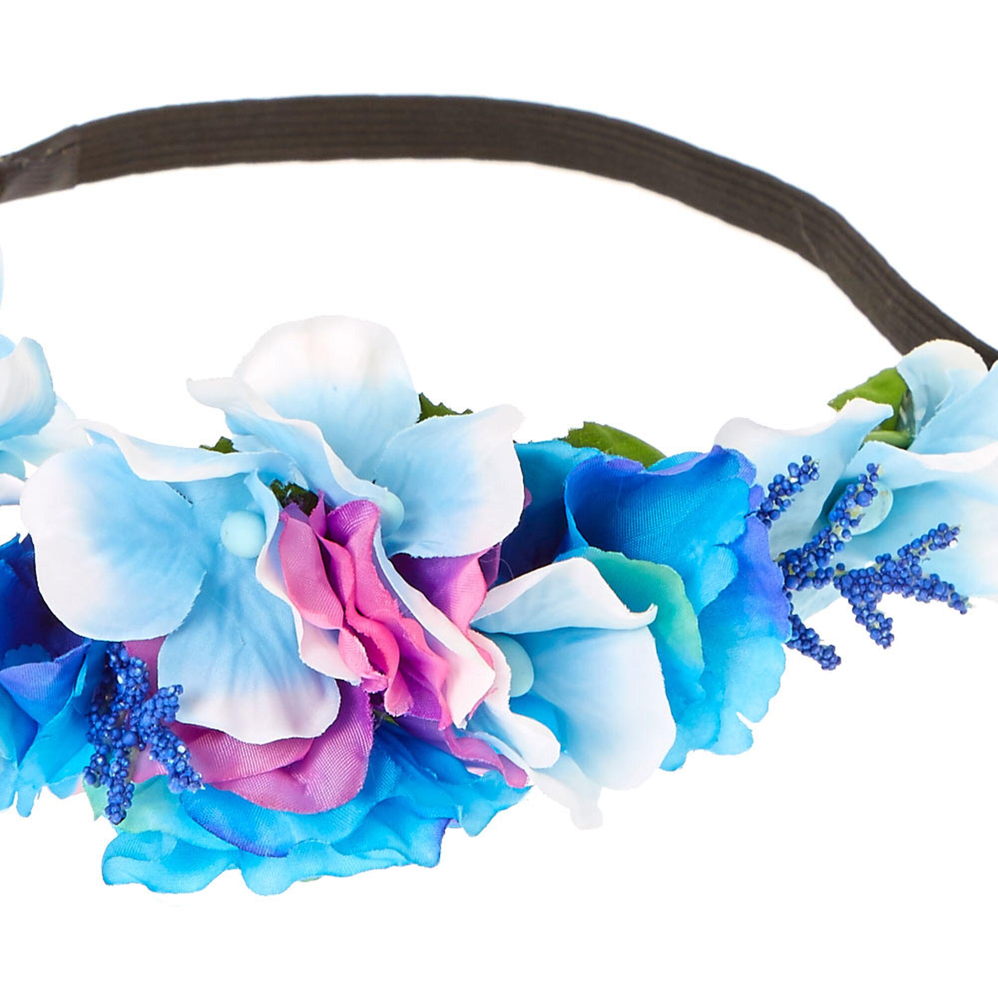 Purple pink blue pastel flower crown icing us purple pink amp blue pastel flower crown izmirmasajfo