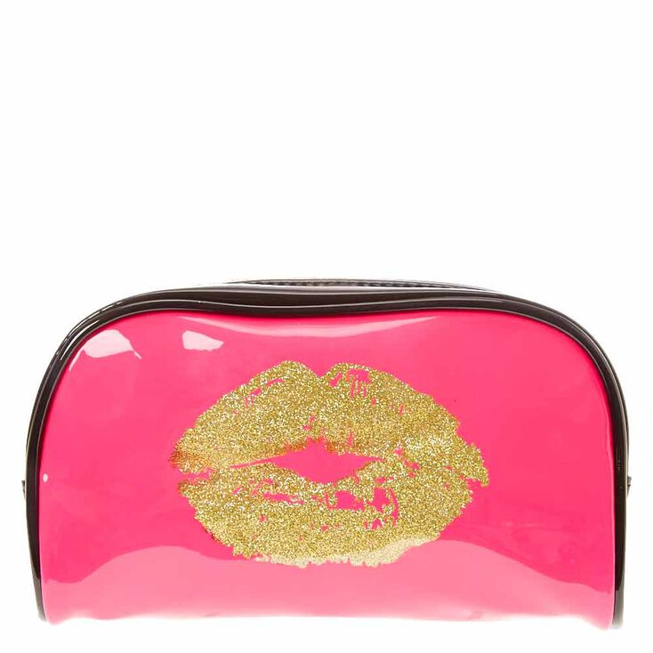 There's Always Lipstick Cosmetic Dome Bag,