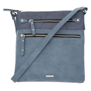 Midi Passport Crossbody Bag - Blue,