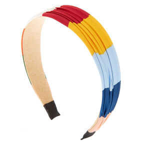 Wide Summer Stripe Headband,