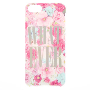 Whatever Floral Phone Case - Fits iPhone 6/7/8,