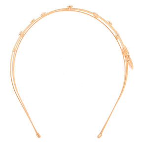 Rose Gold Celestial Headband,