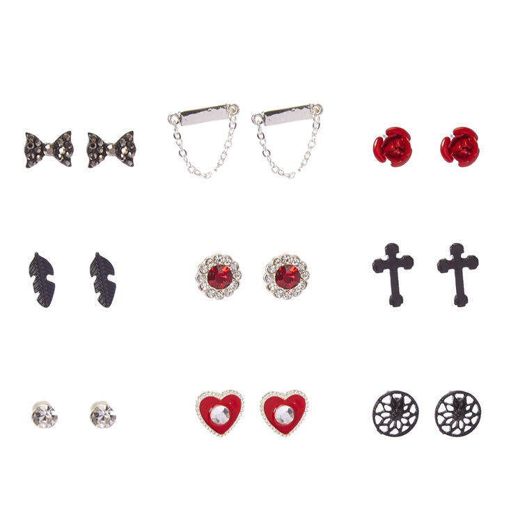 Gothic Romance Stud Earrings,