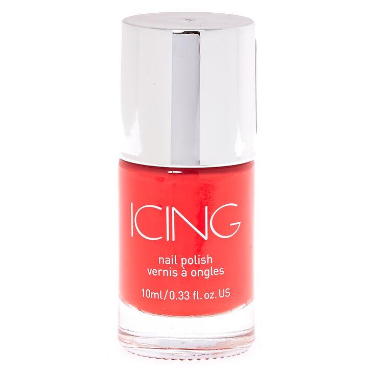 Don't Call Me, Bright Red Nail Polish,
