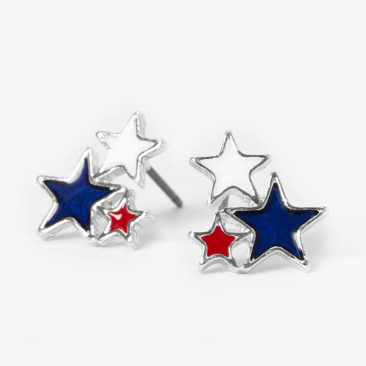 Gold Star Charm Ring,