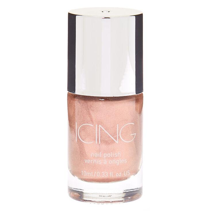 Shimmer Nail Polish - Rose Gold,