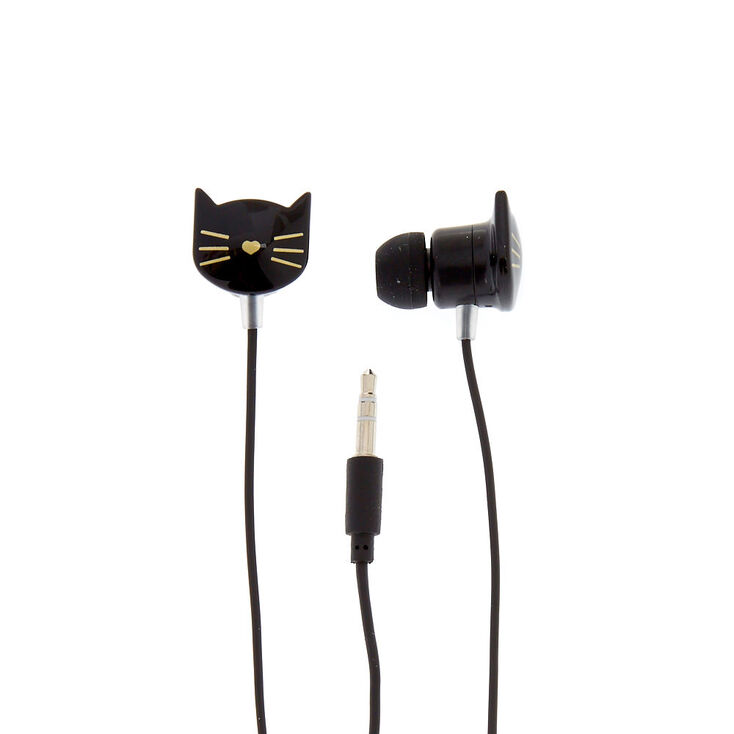 Black Cat Earbuds,
