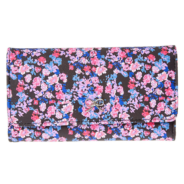 Romantic Floral Folio Tech Wallet,