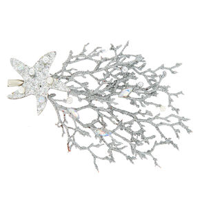 Mermaid Hair Clip - Silver,