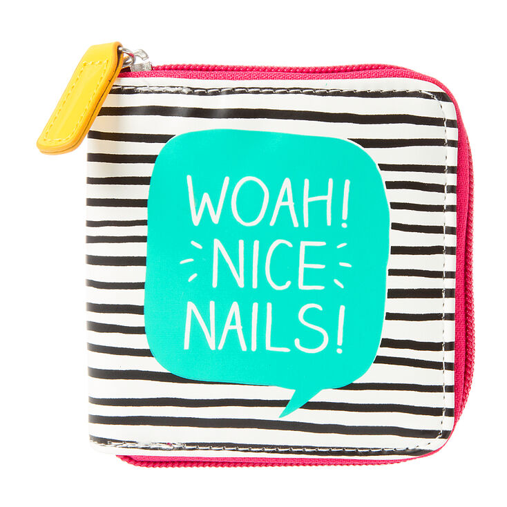 Woah! Nice Nails Travel Manicure Kit,