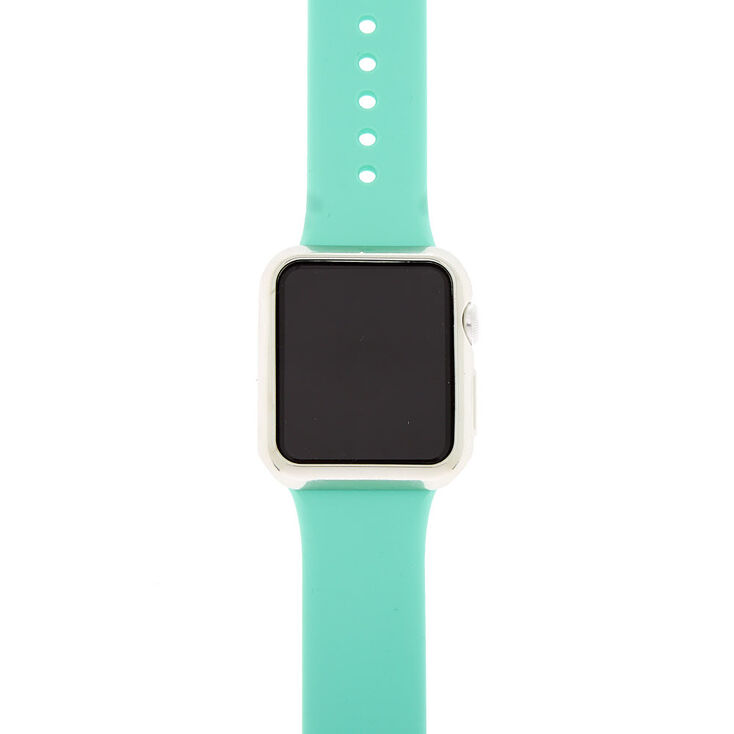 Silver Smart Watch Bumper - Compatible With 38MM Apple Watch,