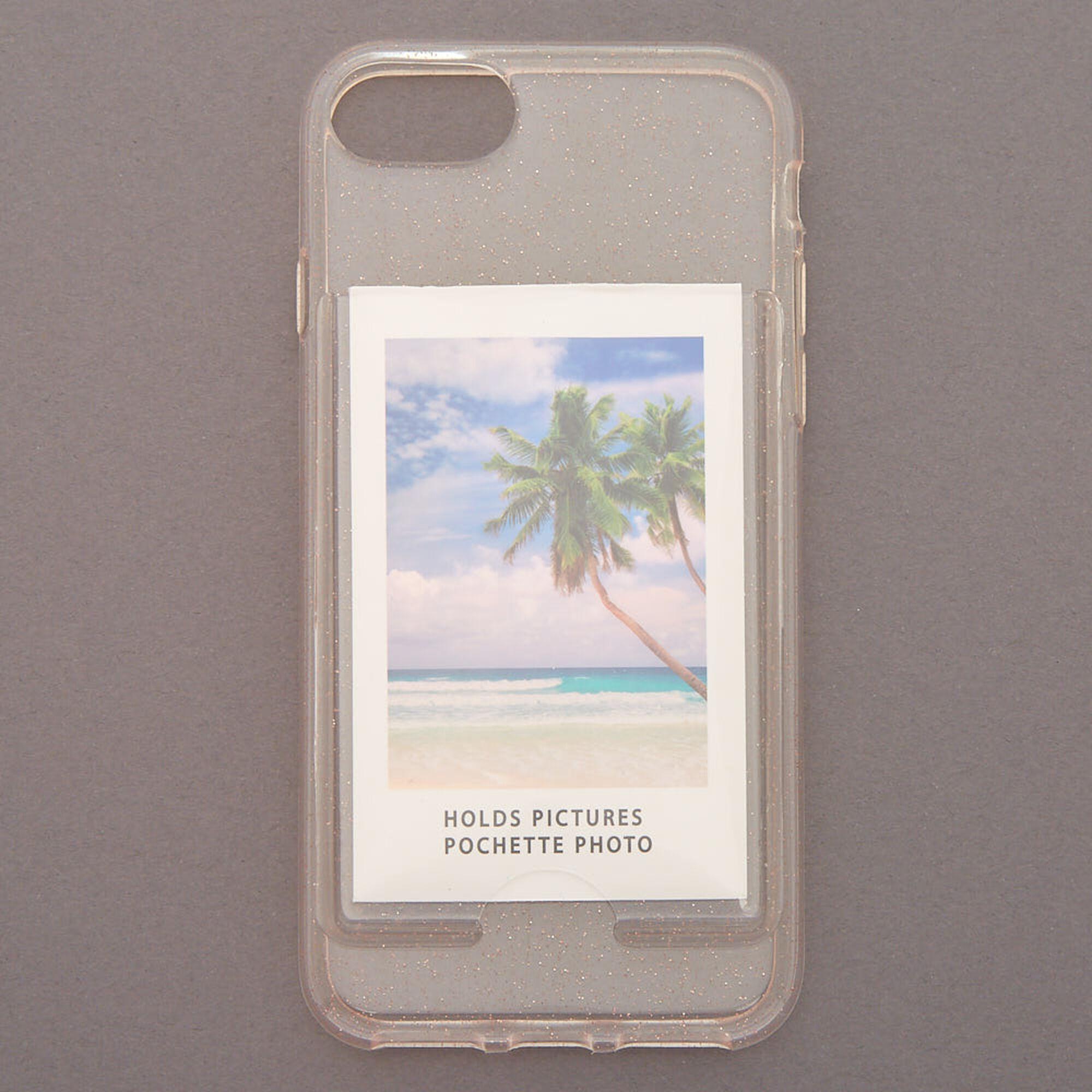 sale retailer 0e83c c351e Instax Mini Pocket Glitter Phone Case - Fits iPhone 6/7/8