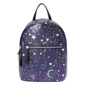 Star Print Midi Backpack,