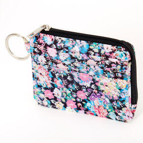 Watercolor Floral Coin Purse,