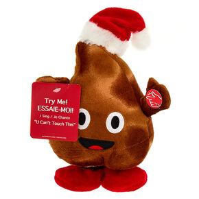 Christmas Poo Emoji Dancing & Singing Plush Toy,