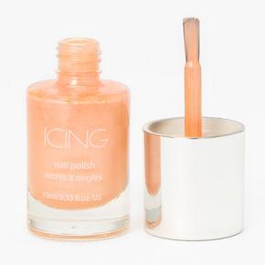 Shimmer Nail Polish - Peachy,